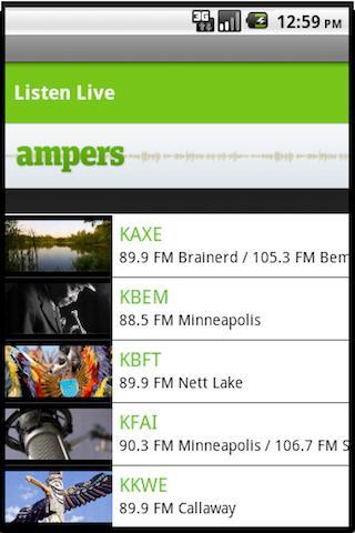 Ampers Radio- screenshot