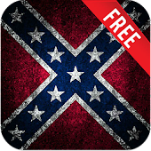 3D Rebel Flag Live Wallpaper