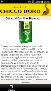 Caffè Chicco d'Oro - screenshot thumbnail