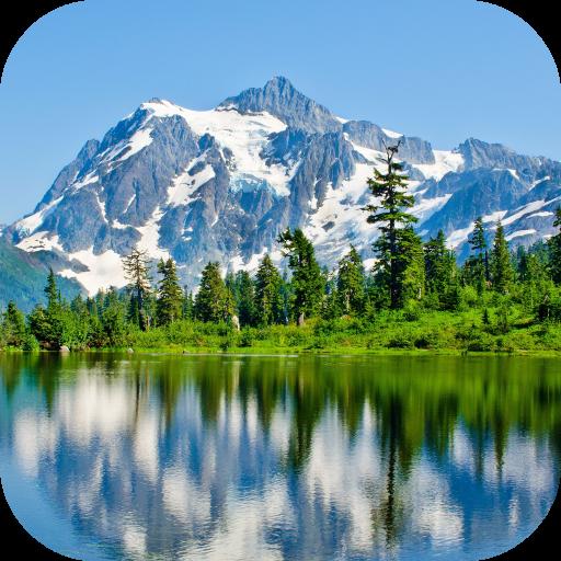 Landscapes Mountains LWP LOGO-APP點子