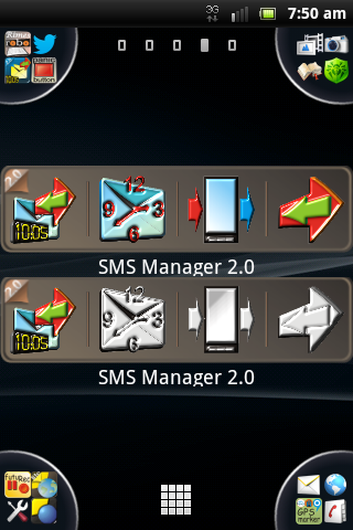 SMS Manager 2.0- screenshot