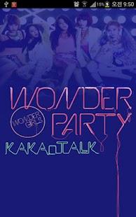 Download Kakao talk theme - Wondergirls 1.1 APK