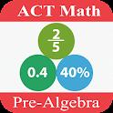 ACT Math : Pre-Algebra Lite icon