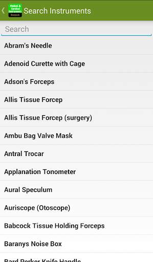 玩免費醫療APP|下載Medical & Surgical Instruments app不用錢|硬是要APP
