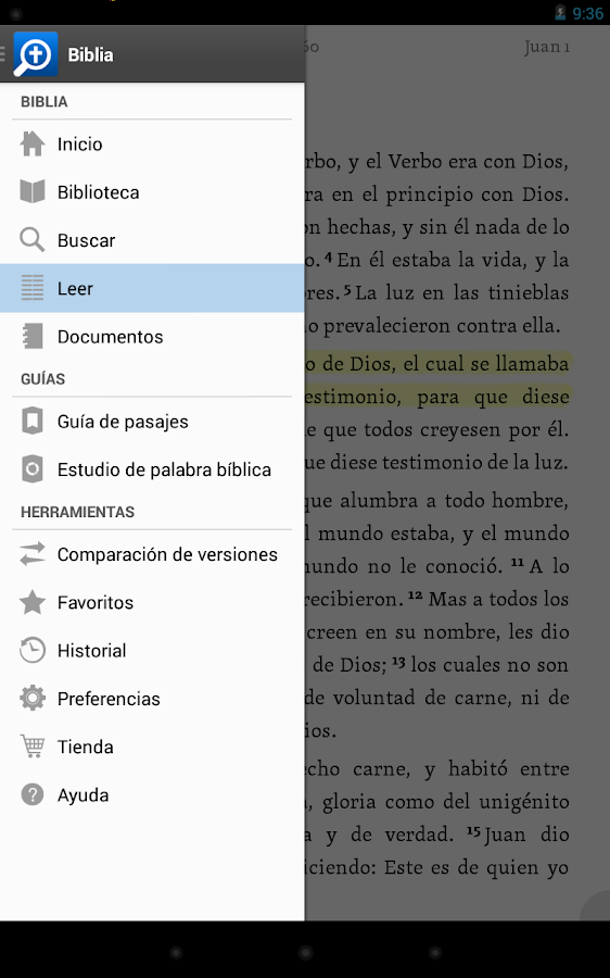 Biblia!- screenshot