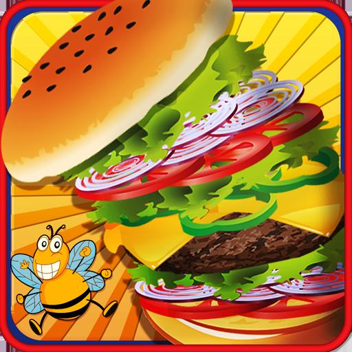 バーガー メーカー - 子供スターのシェフ 休閒 App LOGO-硬是要APP
