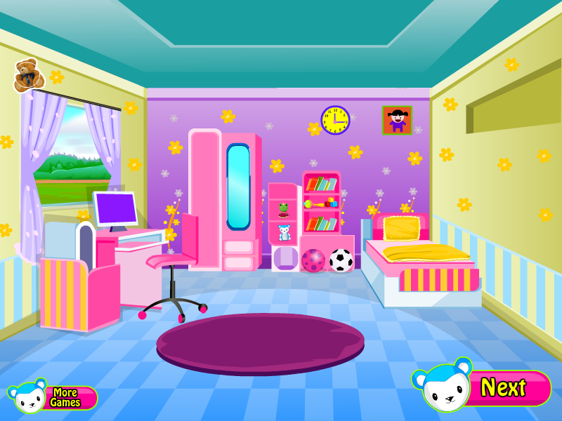 cleaning baby room screenshot