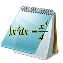 Equation writer. icon