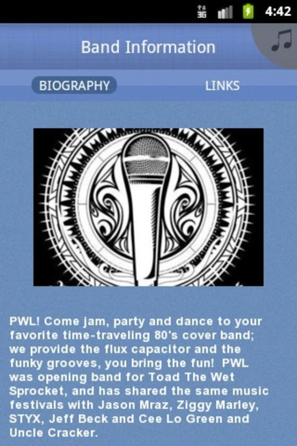 PWL - screenshot