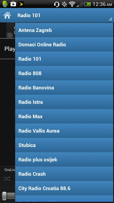 Croatian Radios - screenshot
