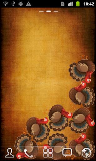 Thanksgiving Gravity Wallpaper