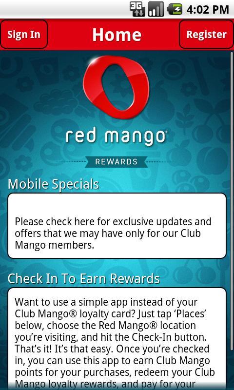Red Mango- screenshot