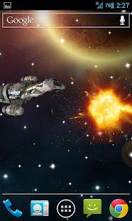 Space War Live Wallpaper