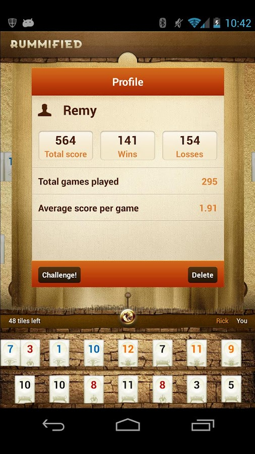 Rummified - screenshot