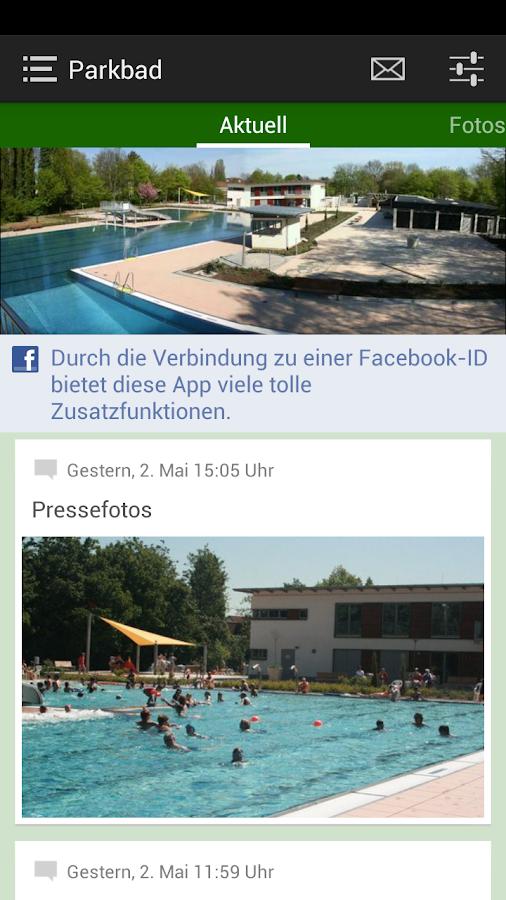 Parkbad Kriftel- screenshot