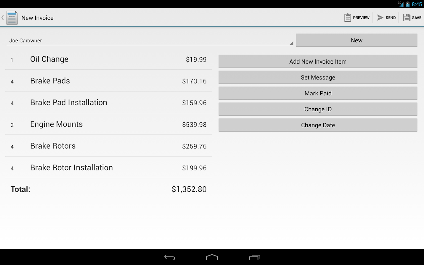 Invoice Maker Pro - screenshot