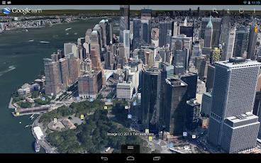 تطبيق جوجل ايرث للاندرويد بإصدار جديد وصور 3D واقعية Google Earth.apk7.0.3