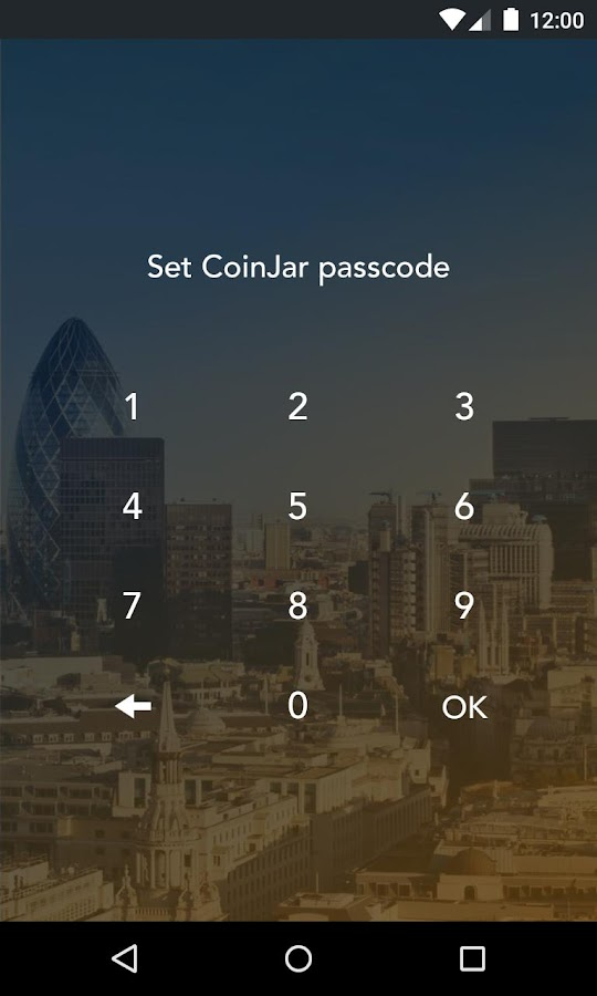 CoinJar Touch- screenshot