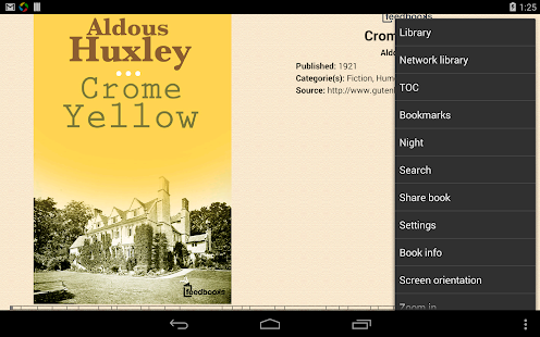 EBook Reader & EPUB Reader - screenshot thumbnail