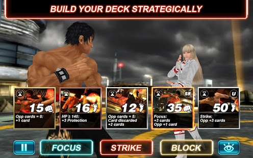 Tekken Card Tournament - screenshot thumbnail