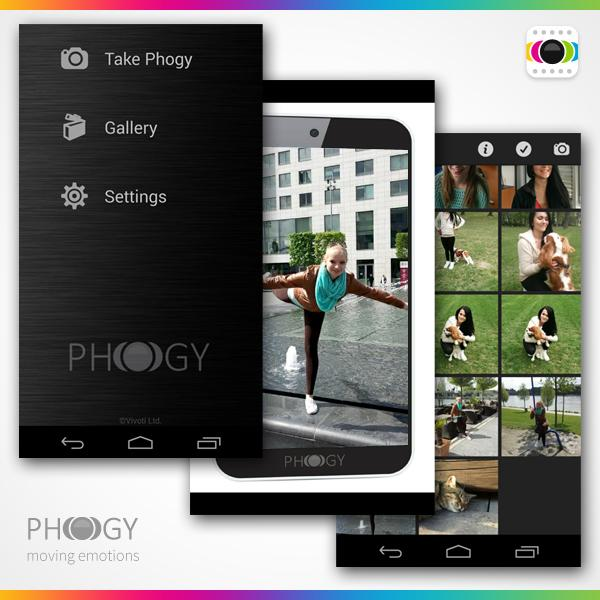 Phogy, 3D Camera- screenshot
