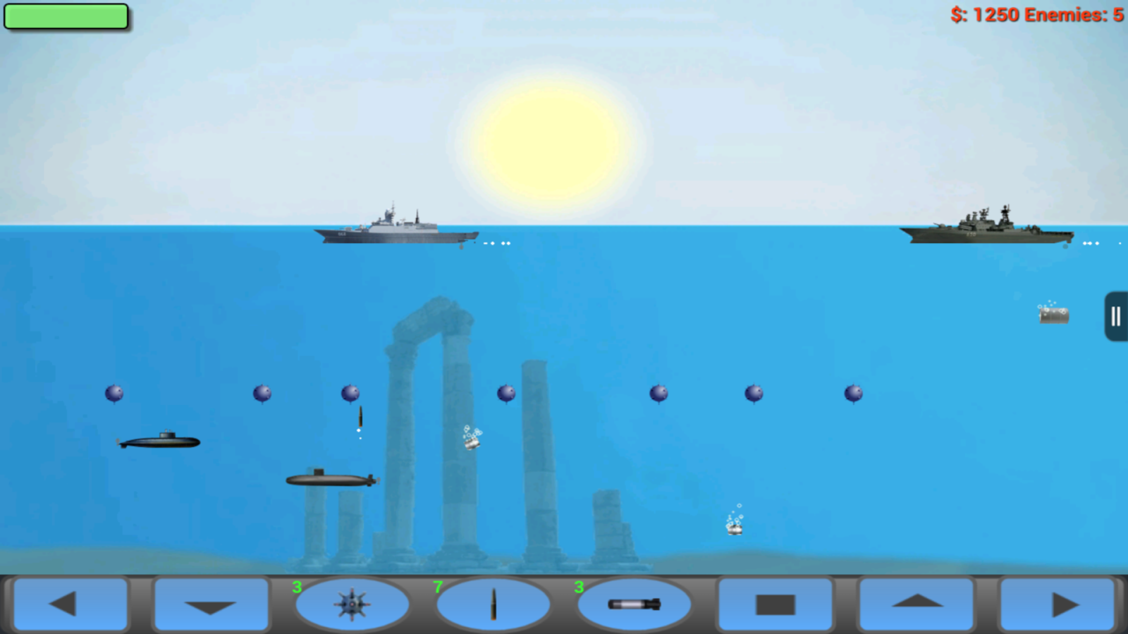 Submarine Attack! Arcade - screenshot