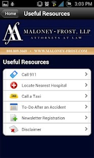 Maloney-Frost, LLP - screenshot thumbnail
