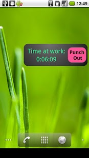 My Work Clock- screenshot thumbnail