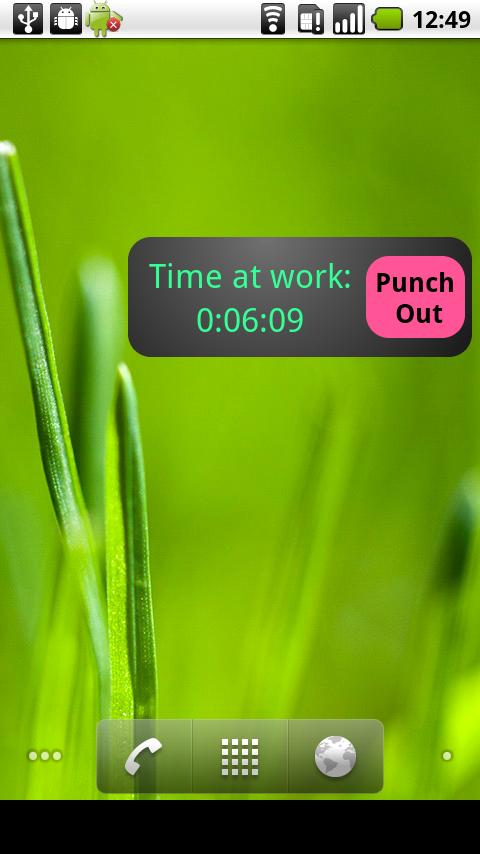 My Work Clock - screenshot