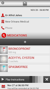 Medica Reminder Pill Organizer - screenshot thumbnail