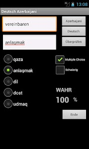 Azerbaijani German Dictionary screenshot 16