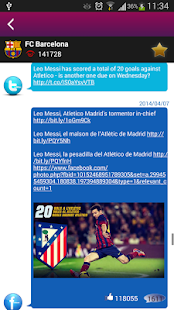 FCB Connect - FC Barcelona - screenshot thumbnail