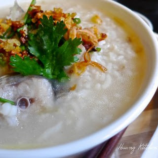 Simple Fish Porridge Teochew Style