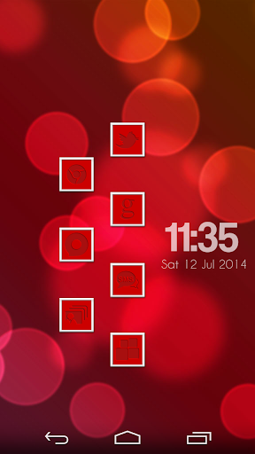 VM10 Red Icon Set