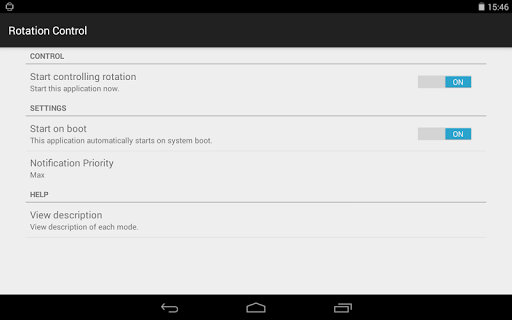 Rotation Control 1.0 screenshots 8