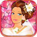 Princess's romantic wedding icon