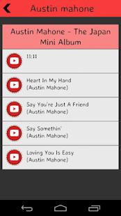 Austin Mahone Lyrics screenshot