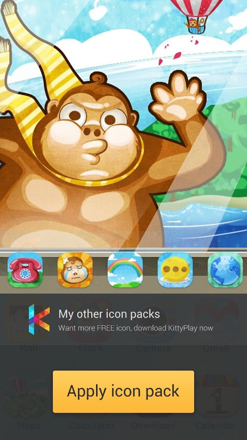 ICON PACK - Amusing(Free)- screenshot