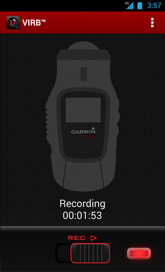 Garmin VIRB™ - screenshot