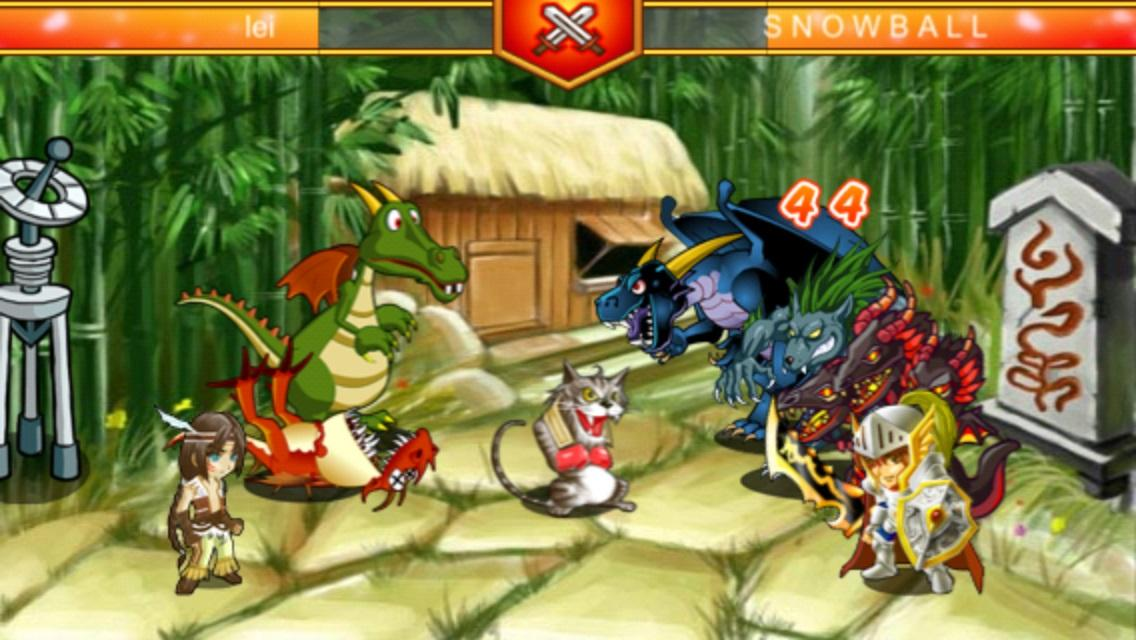 Avatar Fight - MMORPG game- screenshot