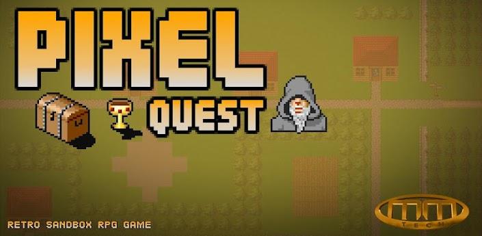 Pixel Quest RPG - игра сочетает РПГ и стиль Minecraft