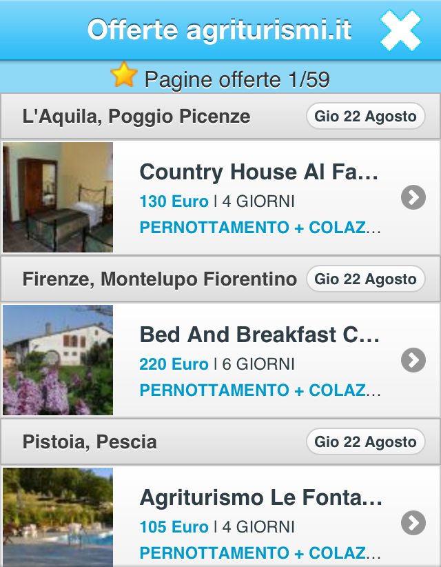 Agriturismi.it- screenshot