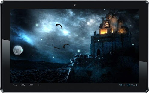 Gothic Moon HD Live Wallpaper - screenshot thumbnail