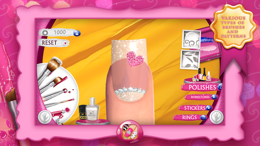 Nail Manicure Games For Girls 9.1 screenshots 1