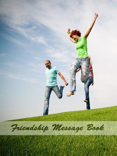 Friendship Message Book