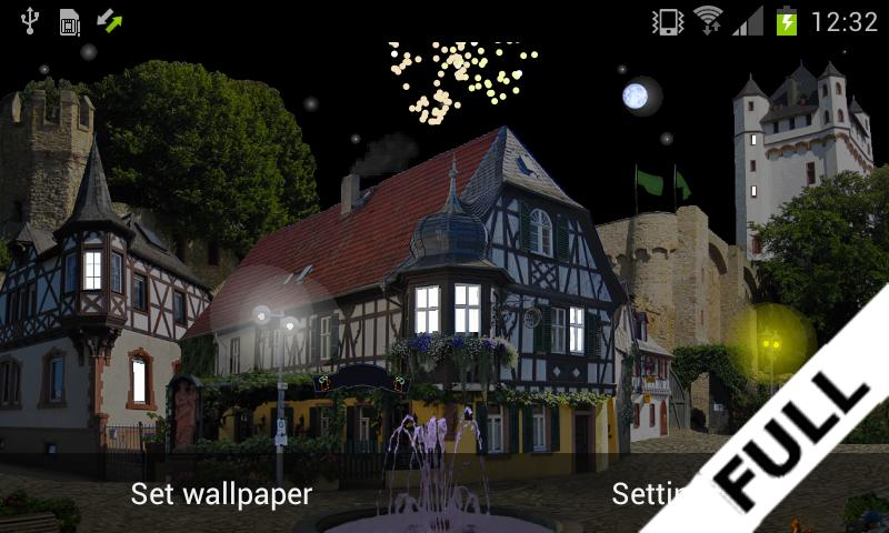 Castle Cat FREE Live Wallpaper- screenshot