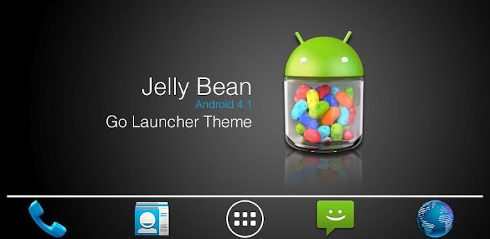 Jelly Bean GO Launcher Theme apk