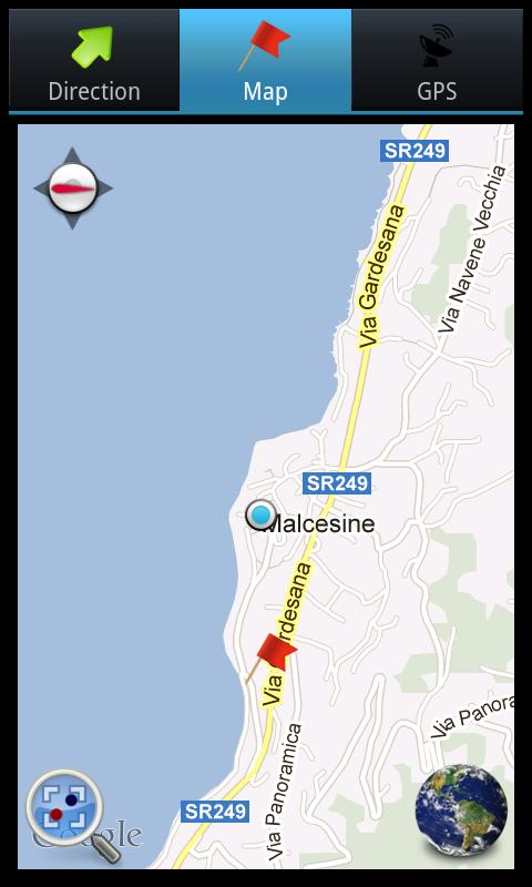 GPS, find me! - screenshot
