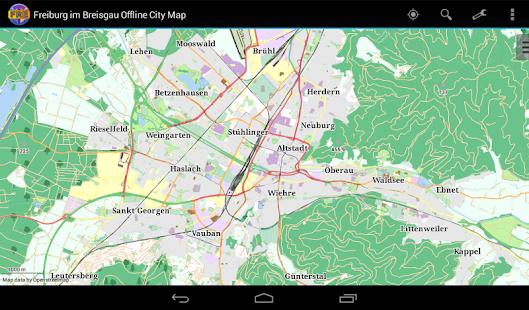 Freiburg im Breisgau City Map Apps on Google Play