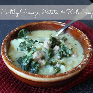 Sausage, Kale, and Potato Soup (Copycat Olive Garden Zuppa Toscana)